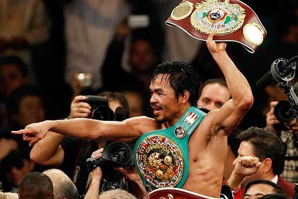 Manny Pacquiao permanecerá en la categoría de los welters, porque ahora...