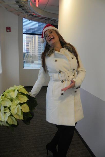 Finalmente, María Esther desea que este 2012 venga mejor que nunca.