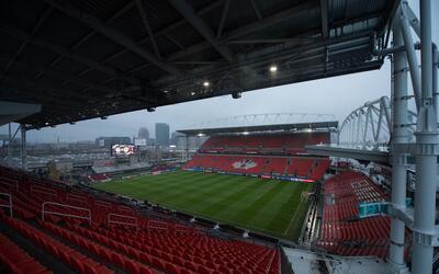 El estadio canadiense será la sede del primer partido de la serie...