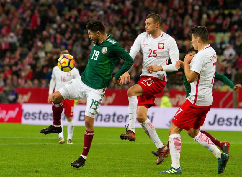 El Tri cierra a lo grande el 2017 venciendo 1-0 a Polonia rumbo a Rusia...