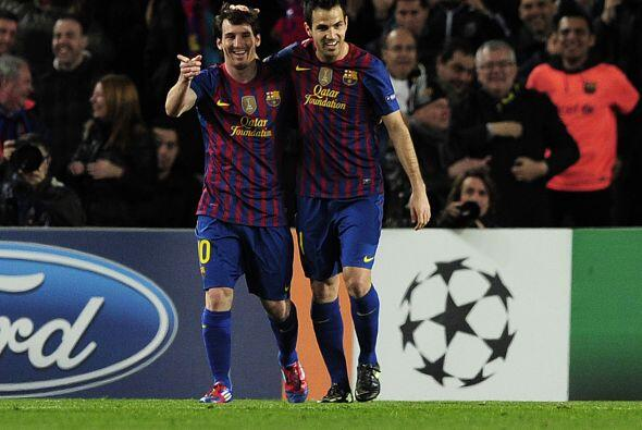 El Barcelona está disfrutando de un partido que tiene sentenciado.