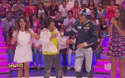 El policía 'Poncho Aurelio' llegó buscando al 'Benjamin'