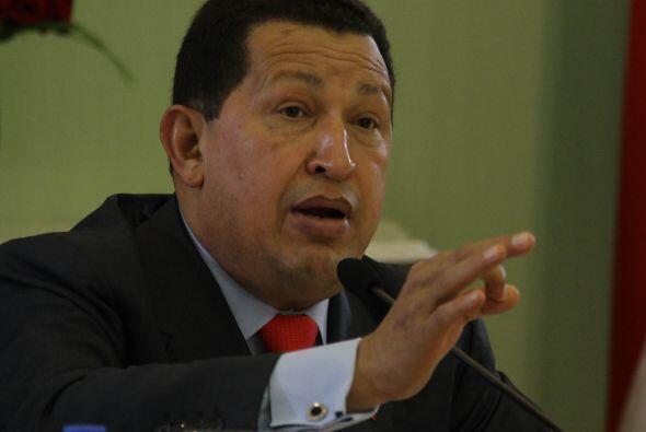 Chávez exaltó, en cadena de radio y televisión, los...
