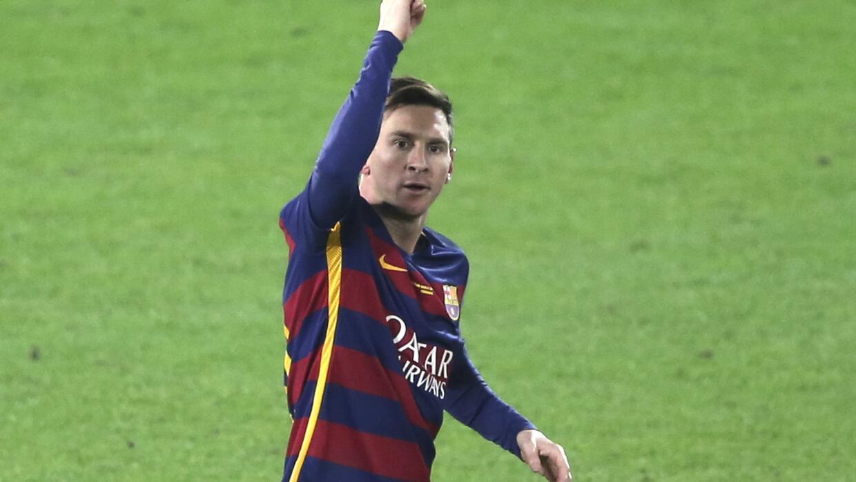Messi fue elegido como el mejor jugador del 2015