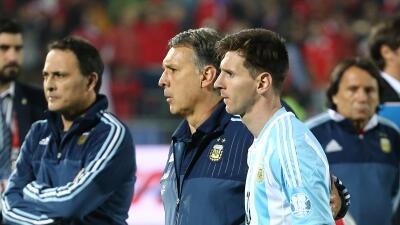 Gerardo Martino y Lionel Messi