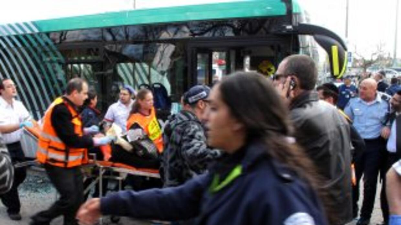 Al menos 25 personas resultaron heridas -algunas de gravedad- el miércol...