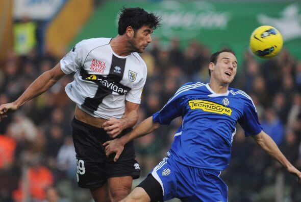 Parma supo jugar aprovechando la ventaja que tenía.