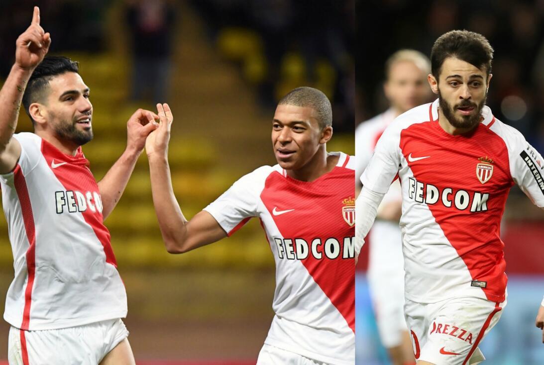 ¡Miedo! Los tríos ofensivos que dominan el fútbol de Europa Falcao Mbapp...