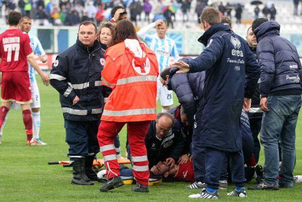 Lo peor de todo es que la ambulancia no pudo llegar de forma inmediata p...
