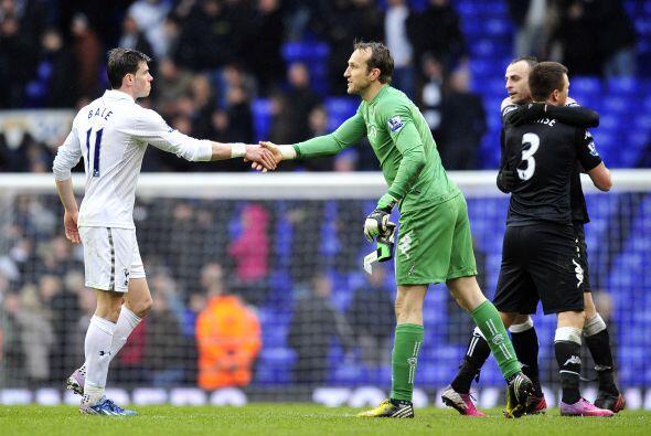 No le bastó el tiempo al Tottenham para al menos rescatar un empate y el...