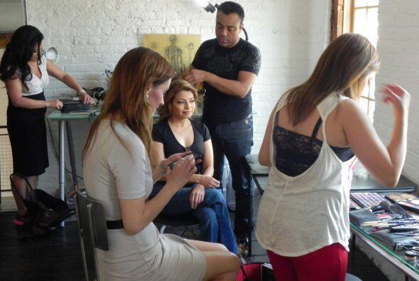 Luz, cámara y acción tras bambalinas con Noticias Univision Chicago
