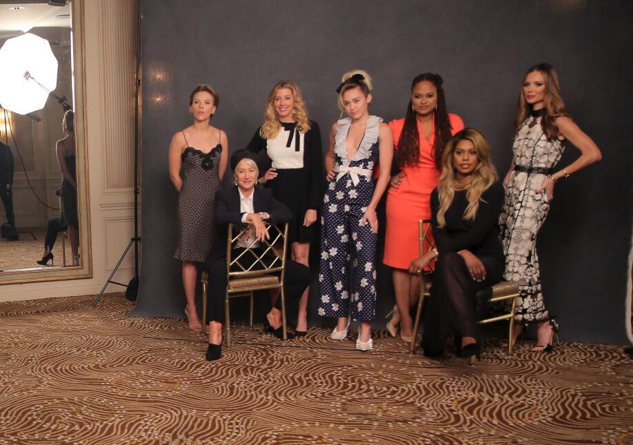 Miley Cyrus en evento de Variety's Power of Women