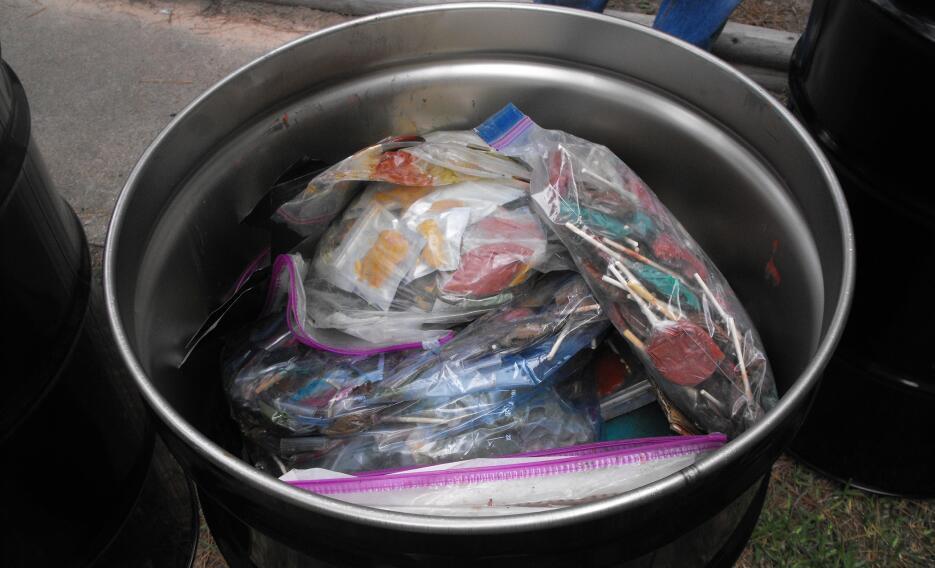 Las autoridades creen que los traficantes tenían la intensión de vender...