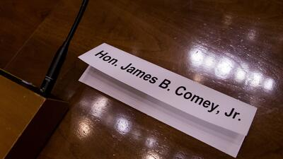 Comey Sign