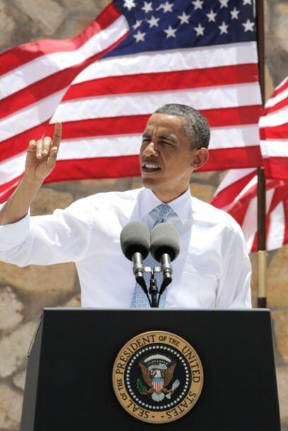 Su discurso fue muy breve pero permitió a los habitantes de El Paso vivi...