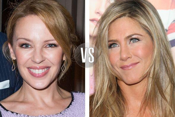 Kylie Minogue y Jennifer Aniston están en la mitad de los cuarentas, ¿qu...