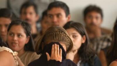 Inmigrantes deportados de Estados Unidos.