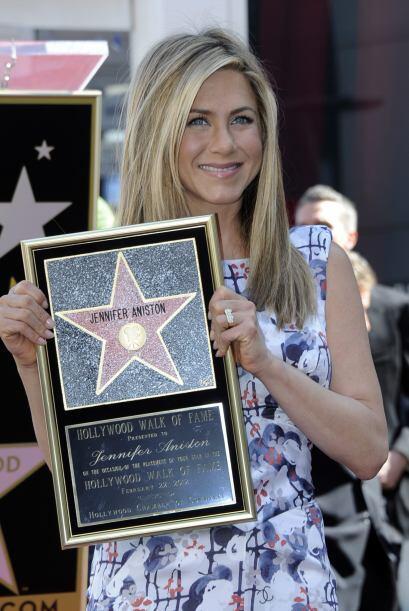 34.- En 2012 recibió su estrella en el Paseo de la Fama, se la tiene bie...
