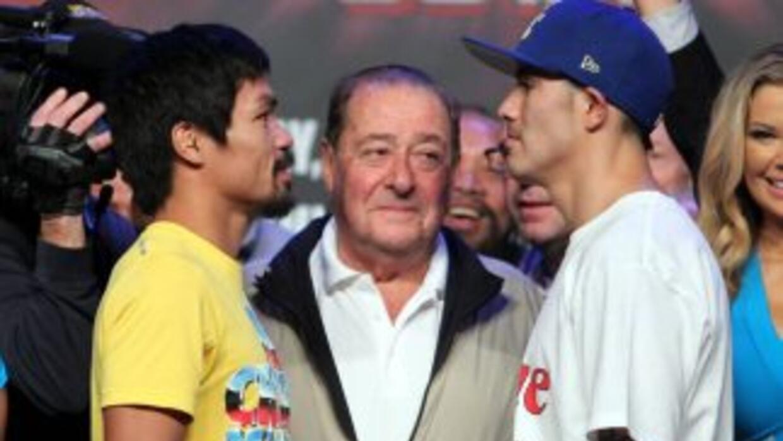 Pacquiao y Ríos saldarán cuentas en el ring (Foto. Zanfer)