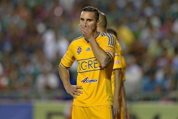 Emanuel Herrera, delantero que solo disputó una temporada con Tigres, de...