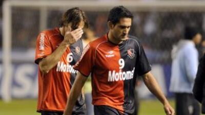 Amargura y sorpresa en Newell´s Old Boys luego de ser derrotado por 2-0...