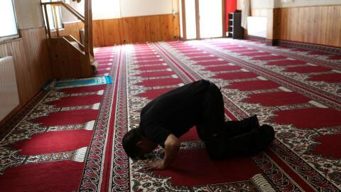 La mezquita en Ripoll donde dirigía el rezo el imán Es Satty, buscado po...