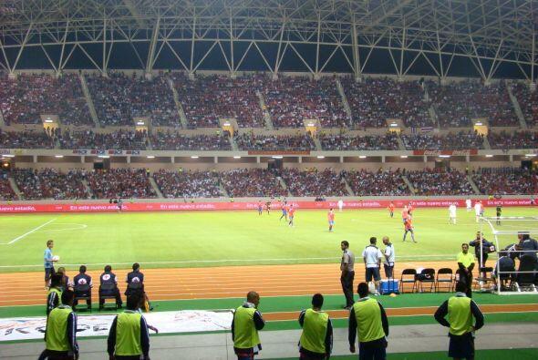 Estas tribunas serán el símbolo de la unidad entre el pueb...