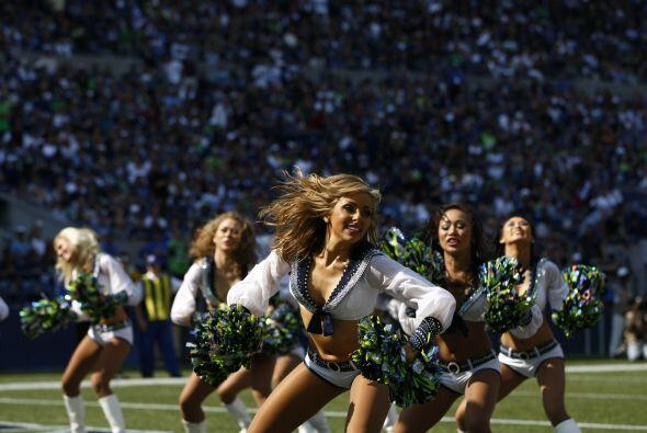 Los campeones de la NFL, los Seattle Seahawks, tienen a su belleza en la...