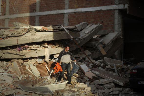 El gobierno regional dijo que gran parte de los daños fueron causados po...