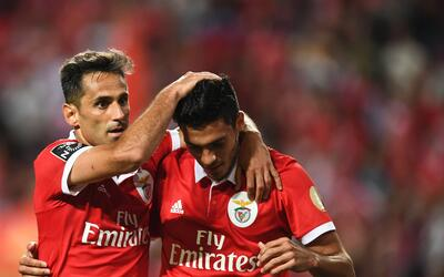 Benfica pasa a semifinales de la Copa con dos goles del brasileño Lima G...