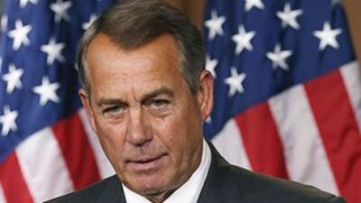 El Presidente del Congreso, John Boehner (republicano por Ohio).