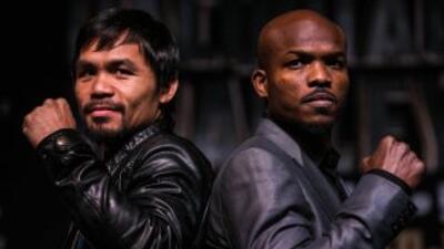 Manny Pacquiao y Timothy Bradley buscan el respeto (Foto: Joel Colón)
