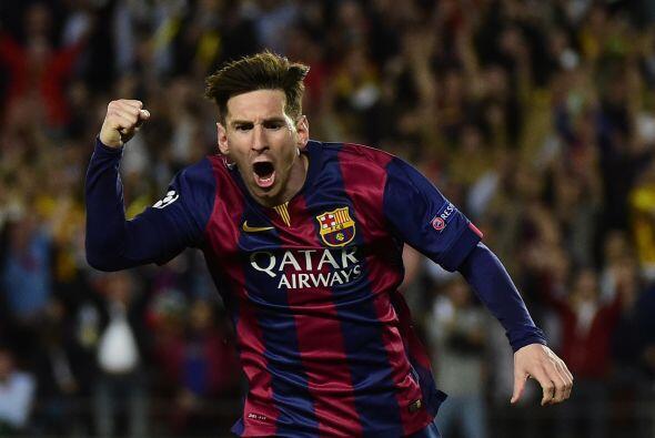 El portugués superó a su rival Lionel Messi, quien se quedó en el segund...