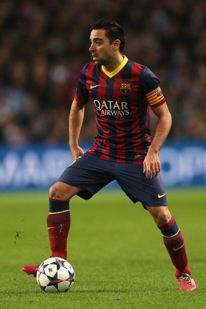 Xavi (6): El de Terrassa ya no tiene la incidencia en el juego del equip...