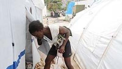 Haití: Lluvias inundan campamentos de desamparados cd785f7127d74f99b492a...