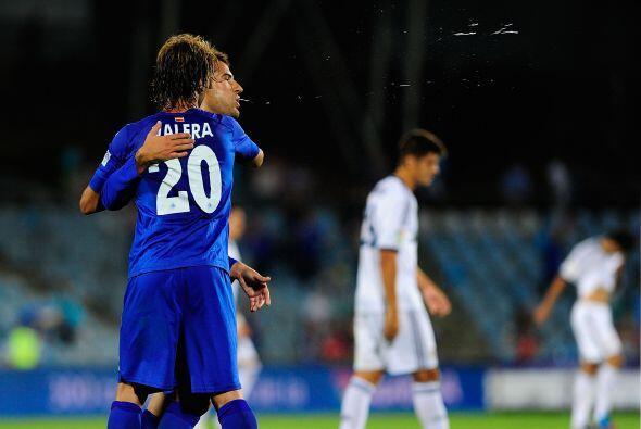 Victoria final del Getafe por 2-1 sobre un Real Madrid que en dos juegos...