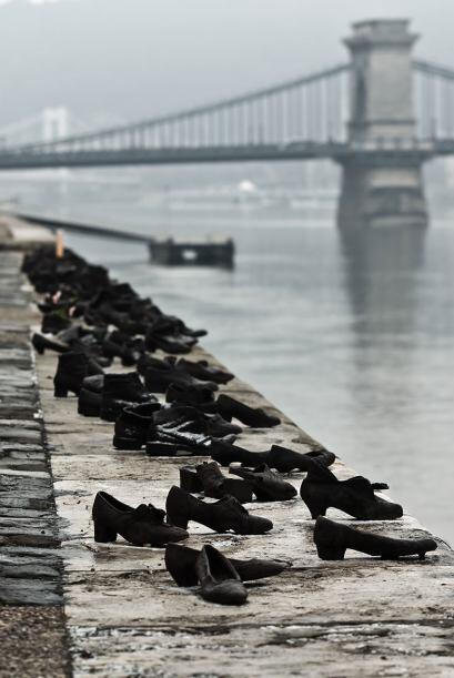 Los zapatos del Danubio, Budapest - Estremecedor memorial para recordar...