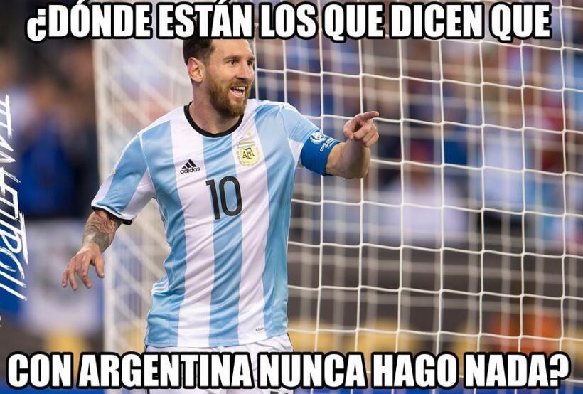 Argentina se metió a las semifinales de la Copa América y...