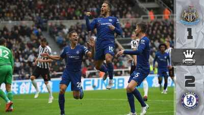 Chelsea sufrió…pero le ganó 2-1 al Newcastle y sigue con marca perfecta en la Premier League