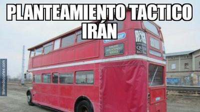 Memelogía | El bloque de Irán contra España y un partido que generó toda clase de burlas
