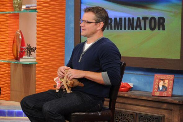 Matt estuvo muy atento pero sin dejar de consentir a Honey.