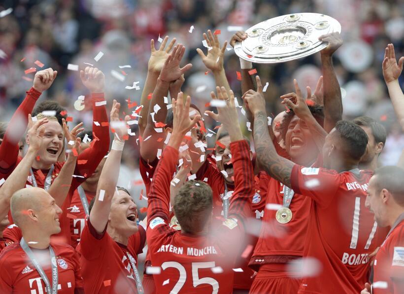 Candidatos al título de la Bundesliga 2015