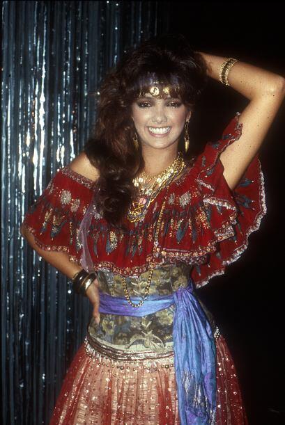 """Adela Noriega inició su carrera en """"Principessa"""" con un papel secundario..."""