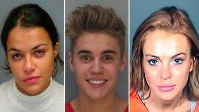 #TBT Mugshots de las celebridades