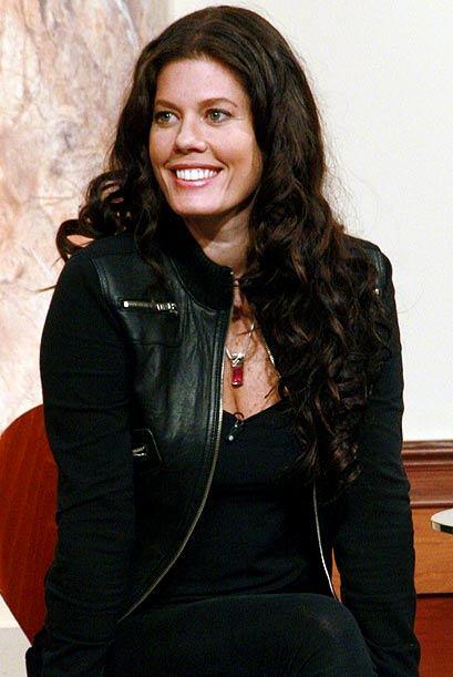 La actriz colombiana Lorna Paz fue la testigo del caso.