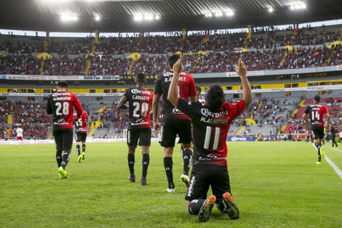 Atlas y Xolos empatan a tres en el partidazo de la jornada Gol Matías Al...