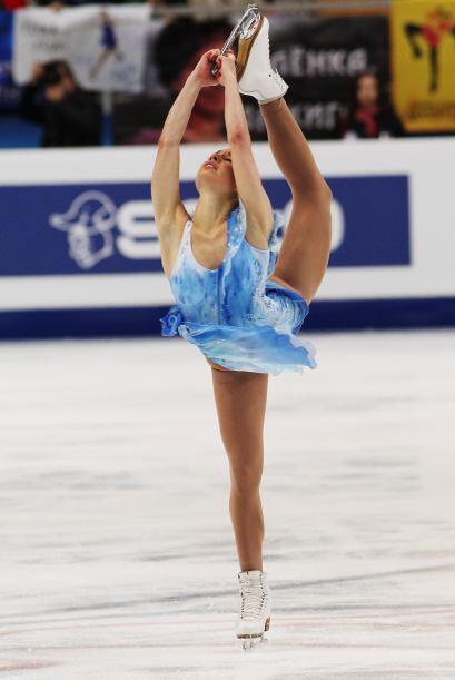 Atrás no podía quedarse la estadounidense Alissa Czisny.
