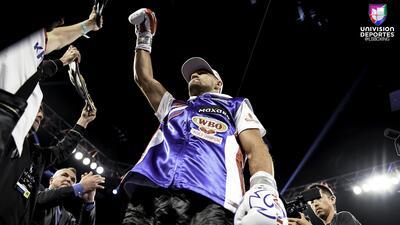 En fotos: La histórica victoria de Eleider Álvarez sobre Sergey Kovalev en Atlantic City