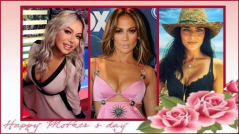 Mamás famosas.