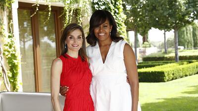 Michelle Obama lleva a España su campaña contra la desigualdad de género